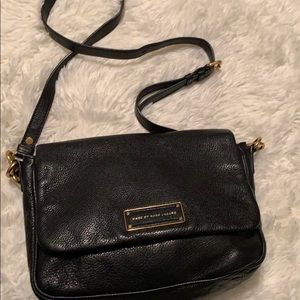 Mark by Mark Jacobs black leather purse